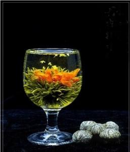 Artystyczna herbata kwiatowa